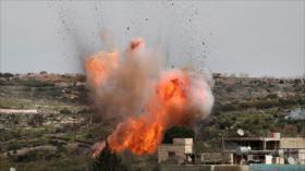 Mueren 6 terroristas en explosión de almacén de armas en Idlib