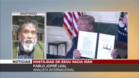 Jofré Leal: Irán y Venezuela han abofeteado a EEUU en la cara