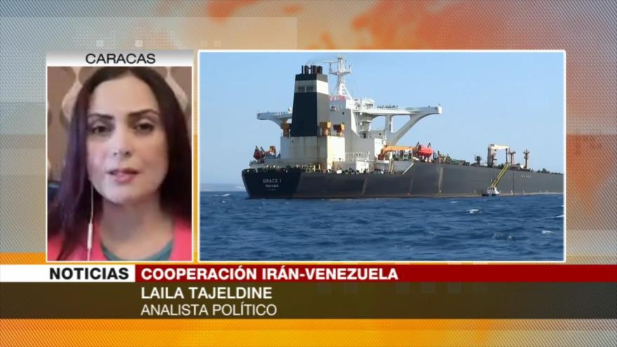 'Comercio Irán-Venezuela pese a sanciones de EEUU marca un hito'