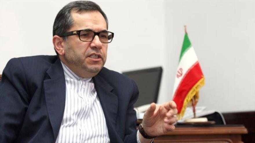 El representante permanente de Irán ante la Organización de las Naciones Unidas (ONU) Mayid Tajt Ravanchi.