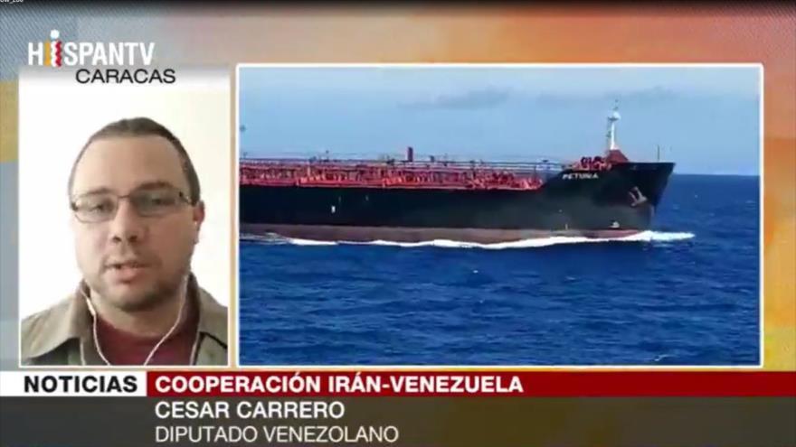 Carrero: Irán ayuda a recuperar industria petrolera venezolana