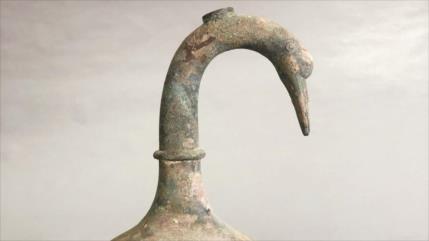 Hallan en China jarra de hace 2000 años con misterioso líquido