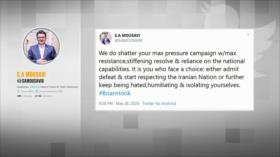 Resistencia de Irán. Fuerzas de EEUU en Colombia. Protestas en EEUU - Boletín: 01:30 - 29/05/2020