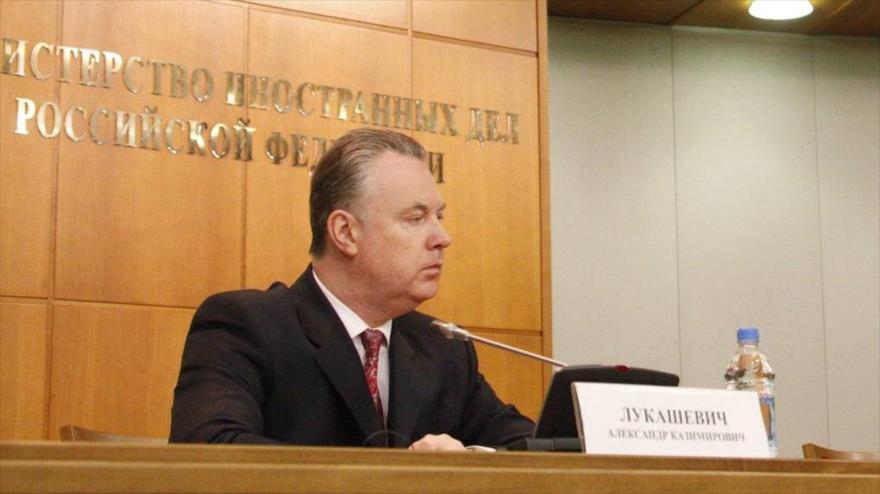 El representante permanente de Rusia ante la Organización para la Seguridad y la Cooperación en Europa (OSCE), Alexander Lukashevich. (Foto: TASS)