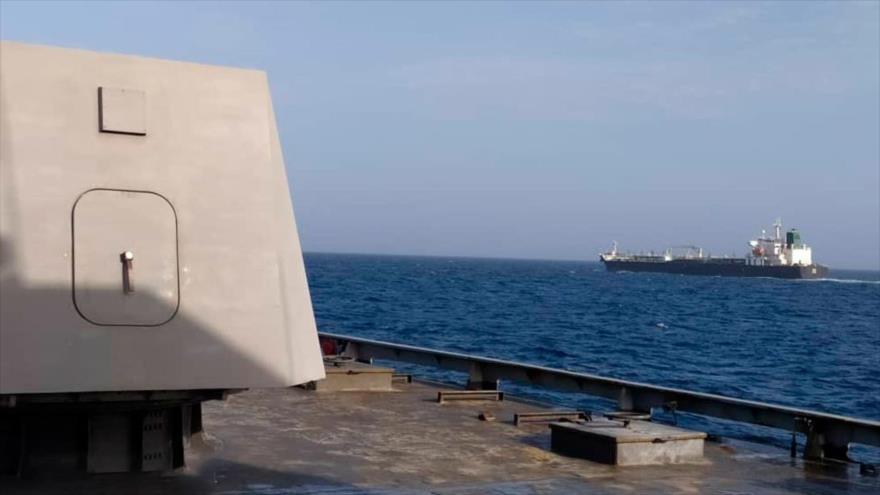 El cuarto buque cisterna iraní llega a su destino en Venezuela