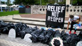 """EEUU: Activistas denuncian incompetencia de gobernador """"desastre"""""""