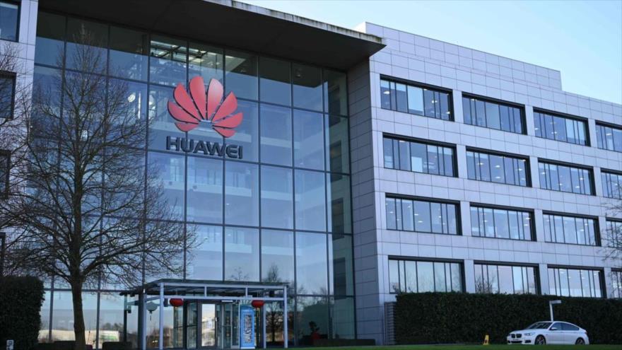 La oficina principal de la empresa Huawei en el Reino Unido situada en Londres.
