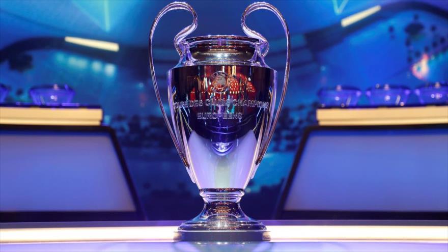 El trofeo de Liga de Campeones de la UEFA por la temporada 2019-2020. (Foto: Reuters)