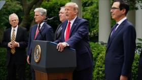 Trump ordena cortar relaciones de EEUU con la OMS