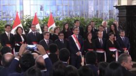 Congreso de Perú otorga confianza a gabinete de ministros