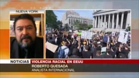 Quesada: Represión de protestas crispará la tensión en EEUU