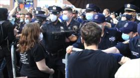 Masivas marchas en varias ciudades de EEUU por asesinato de Floyd