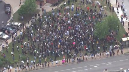 Siguen las protestas contra violencia racial en EEUU