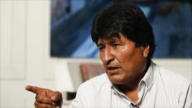 Morales advierte que el gobierno golpista pretende perpetuarse