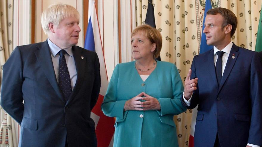 Tres países de la UE lamentan nuevas restricciones de EEUU contra Irán