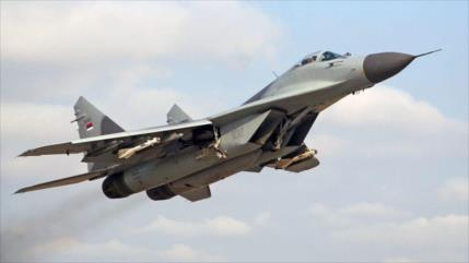 Rusia entrega segundo grupo de aviones de combate MiG-29 a Siria