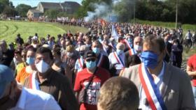 Protestan en Francia contra plan de recortes y ajustes de Renault