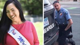 La esposa del policía que asesinó a Floyd le pide divorcio
