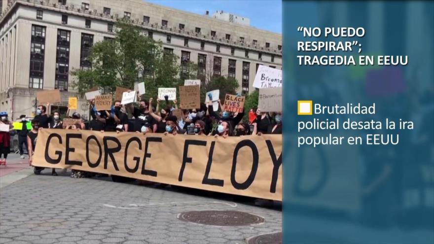 """PoliMedios: """"No puedo respirar""""; tragedia en EEUU"""
