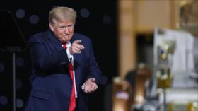 """Trump acusa a """"criminales de extrema izquierda"""" de protestas en EEUU"""