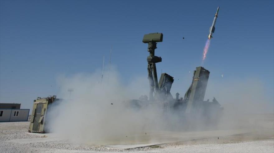 Un sistema de defensa aérea de Turquía.