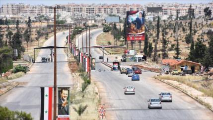 Siria reabre la carretera Al-Raqa-Alepo por primera vez tras 8 años