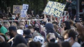 Protestas contra violencia racial en EEUU se extienden a Europa
