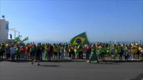 Represión en EEUU. Protestas en Brasil. Tensión en Bolivia - Boletín: 21:30 - 31/05/2020