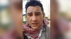 Corresponsal de HispanTV es blanco de represión policial en EEUU