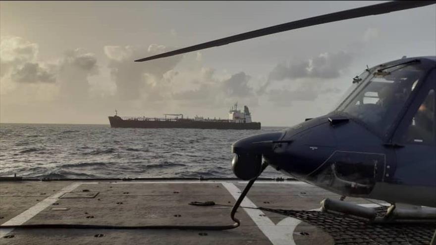 Vídeo: El último petrolero iraní ingresa a aguas de Venezuela