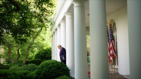 Trump se escondió en búnker de Casa Blanca por temor a protestas