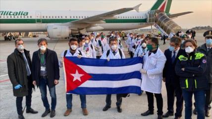 Cuba envió más de 2300 médicos al extranjero para combatir COVID-19