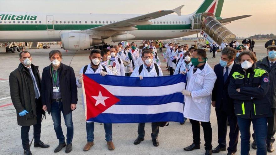 Cuba ha enviado más de 2300 médicos al extranjero para combatir COVID-19