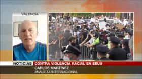 Martínez: Protestas por Floyd marcarían fin del mandato de Trump