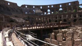 Italia reabre Coliseo de Roma, símbolo de vuelta a la normalidad