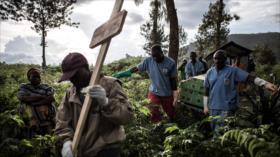 OMS advierde de un nuevo brote de ébola en el Congo
