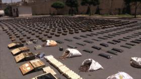 Siria decomisa grandes cantidades de armas en el sur del país