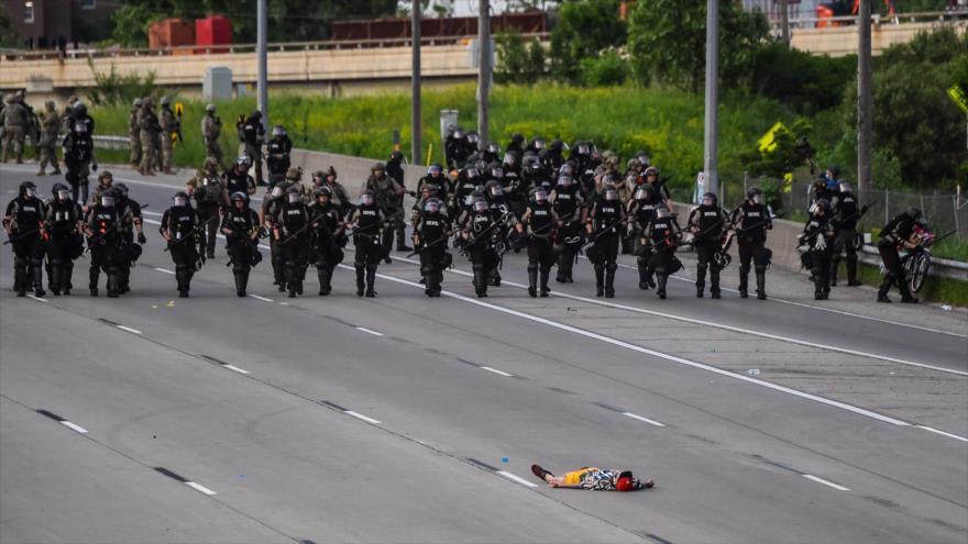 Trump moviliza 66 000 soldados de Guardia Nacional por protestas | HISPANTV
