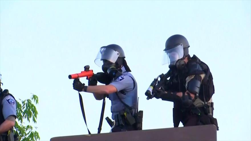 Reacciones mundiales a represión de protestas antiracistas en EEUU | HISPANTV