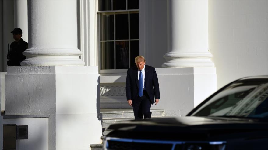 El presidente de EE.UU., Donald Trump, en la Casa Blanca, Washington, 1 de junio de 2020. (Foto: AFP)
