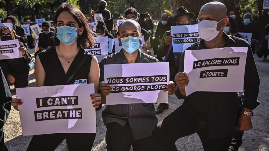 Protestas contra el asesinato de Floyd en EEUU se toman el mundo | HISPANTV