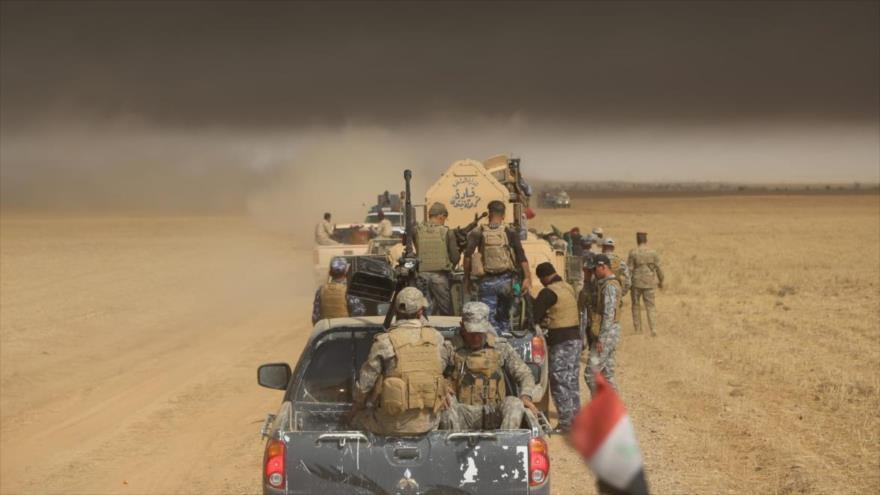 Irak destruye tres sedes de Daesh en nueva ofensiva antiterrorista   HISPANTV