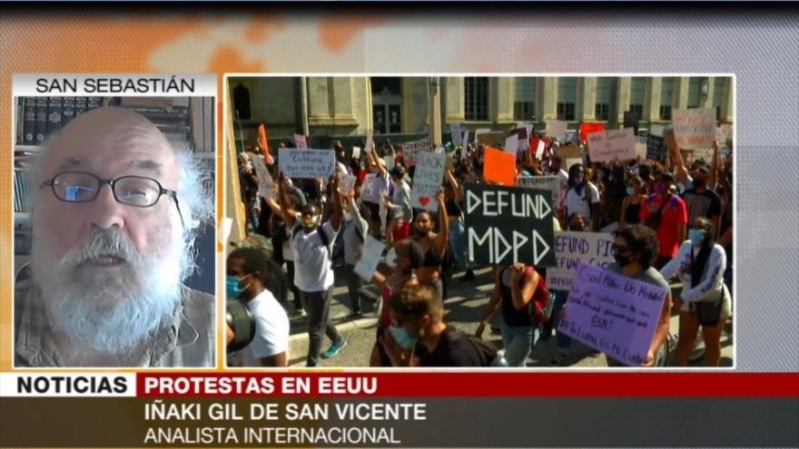 Gil: Es inédita la participación diversa en protestas en EEUU