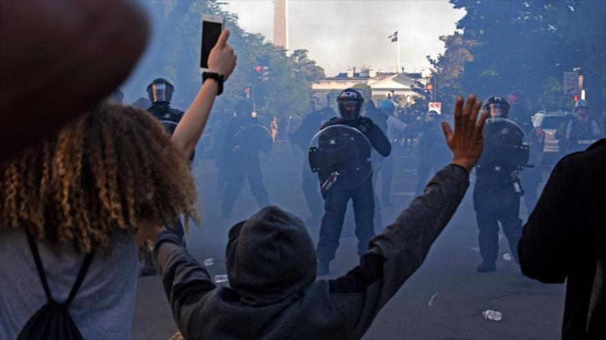 """UE denuncia el """"abuso de poder"""" en el asesinato de negros en EEUU   HISPANTV"""