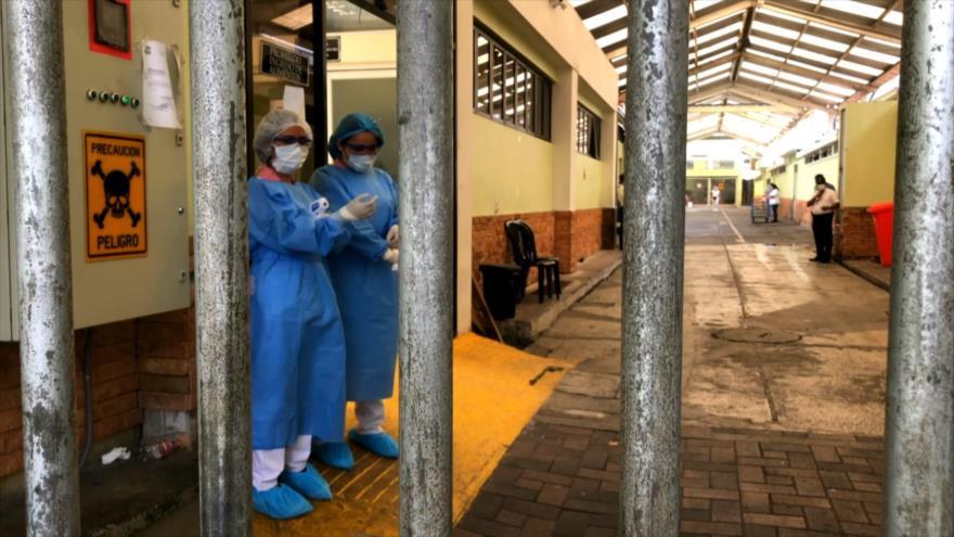 Colapsa la morgue del hospital más grande de Guatemala