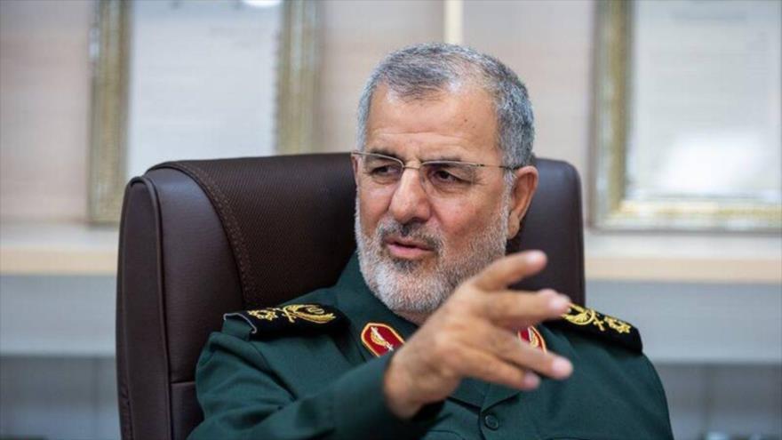 El comandante de la Fuerza Terrestredel Cuerpo de Guardianes de la Revolución Islámica (CGRI) de Irán, el general de brigada Mohamad Pakpur.