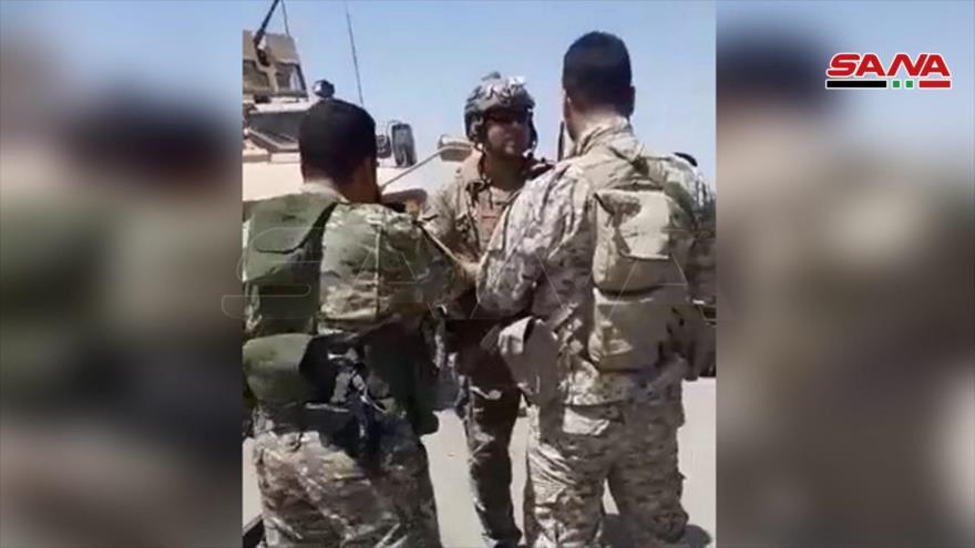Campesinos sirios obligan a retroceder a un convoy de EEUU
