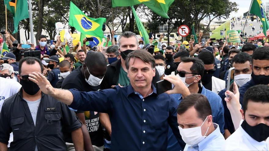 Estrategia de Bolsonaro ante COVID-19: Muerte es destino de todos | HISPANTV
