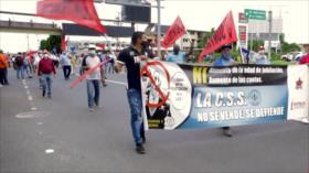 Protestan contra modificaciones al código laboral de Panamá