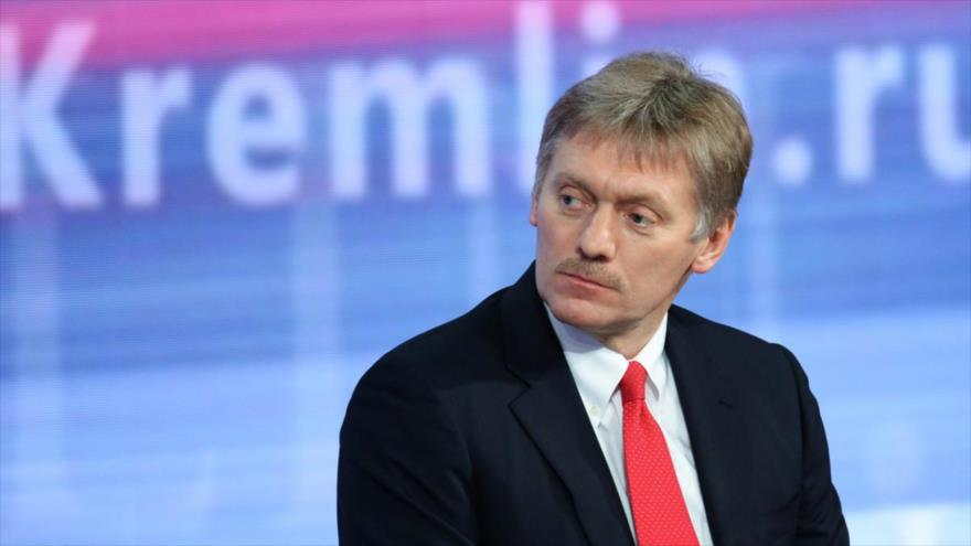 El portavoz presidencial ruso, Dmitri Peskov.